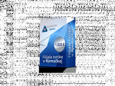 PODRUŽNICA DRUŠTVA U NEMAČKOJ od 300,00 € +19% PDV